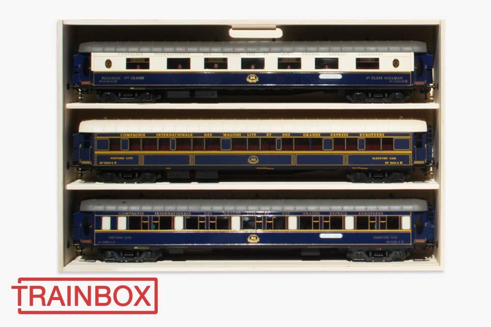 Wagenkiste LGB 80cm Trainbox
