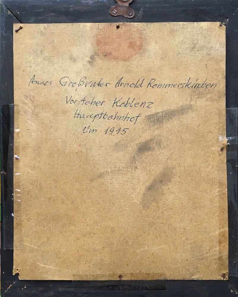 Arnold Rommerskirchen 1915