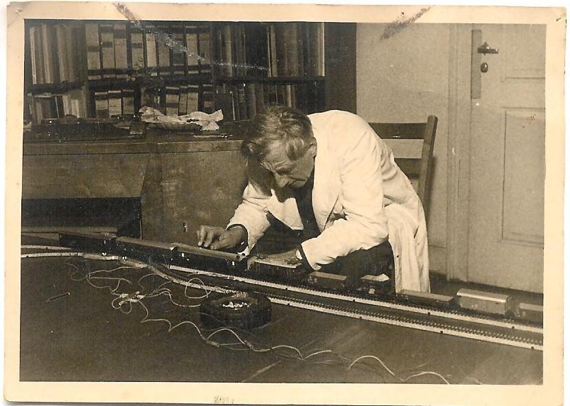Carlo Frobenius Märklin-Eisenbahn