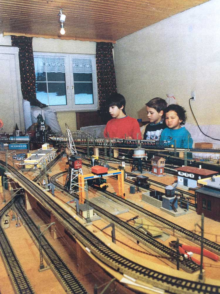 Frobenius Ruckteschell Children's model train