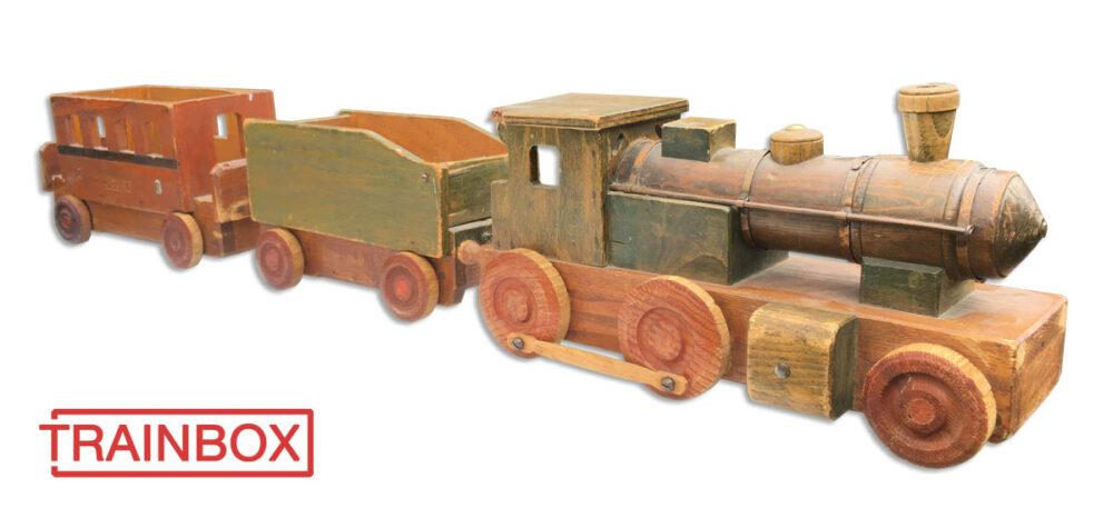 Wooden train Gerhard von Ruckteschell