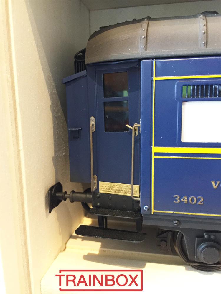 Transportbox passenger coaches 1 gauge