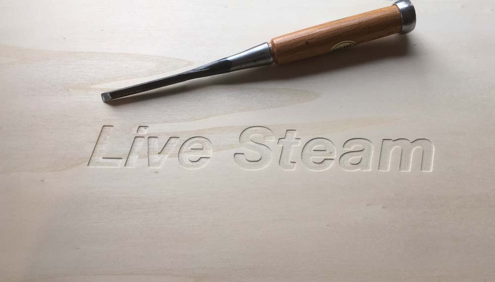 TRAINBOX Engraving Live Steam