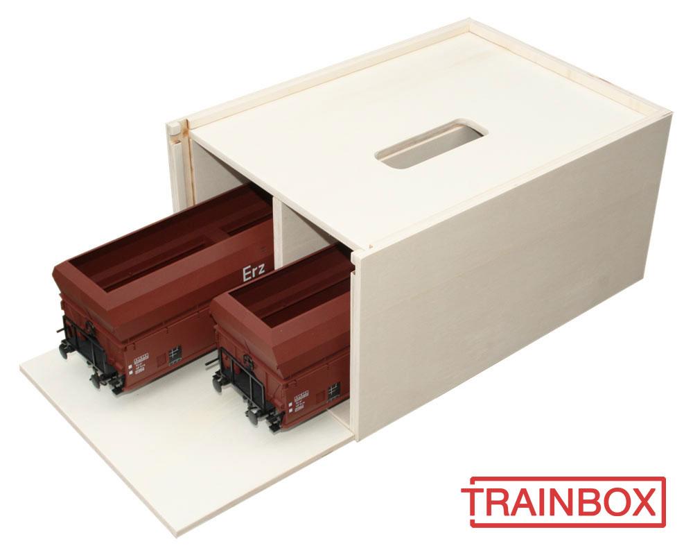 Transport box freight wagons G LGB gauge