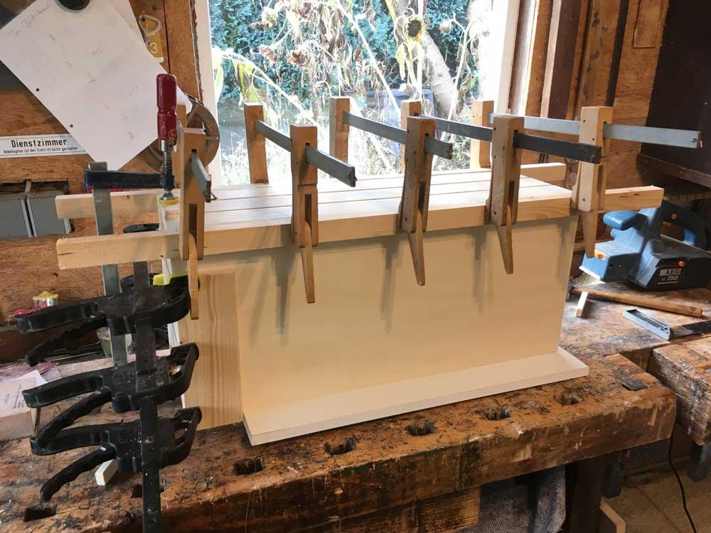 TRAINBOX Loco Box being glued