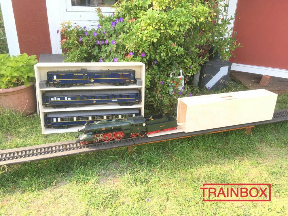TRAINBOX loco box test track