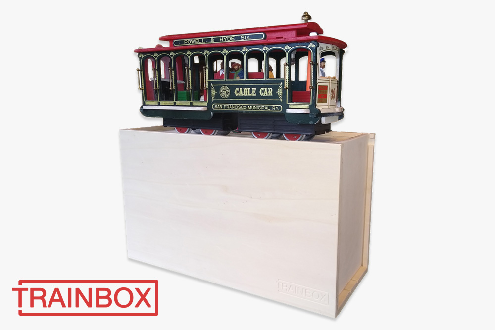 Loco box G Scale Cable Car